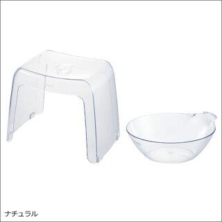 日本製腰かけ30H湯おけ2点セットカラリバスチェアバスチェアーバススツールお風呂グッズバスチェアお風呂椅子高さ20cmお風呂いすお風呂イスおしゃれ北欧テイストインテリア雑貨お風呂セットバスチェアクリアバスチェアリッチェルバスチェア