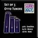 ショッピングチューナー SomaEnergetics社 オットーチューナー治療用セット32 Hz, 64 Hz, 128 Hz. 音叉 日本語説明書付き Otto Tuners - Therapeutic Fork Set - 32 Hz, 64 Hz, 128 Hz.
