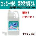 洗浄用アルカリイオン水100% 家庭用洗浄剤 「さっとクリヤ...
