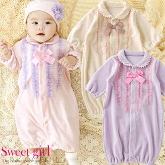 Sweetgirl * 甜美女孩薄紗心湖絲絨雙向所有中性都打扮覆蓋所有 50 釐米 ~ 60 釐米 / 新生兒 5 個月