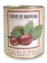 サバトン マロンクリーム缶詰 1kg_ <お菓子材料・パン材料>