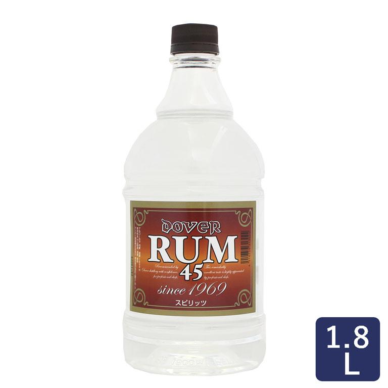 ドーバーラム45°<ホワイト>18L Doverフルーツ漬洋酒漬けお菓子用ラム酒