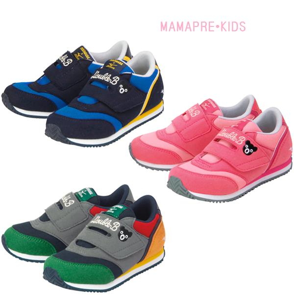 "★ Double B ""Miki House x Mizuno ' collaboration with ☆ double B Kids shoes ( 16-20)"