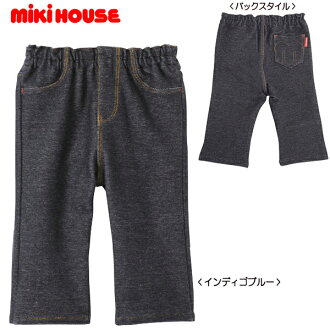 Miki House ☆ ■] ☆ Every Day mikihouse ☆ M stitch ☆ ニットデニム pants (80-130)