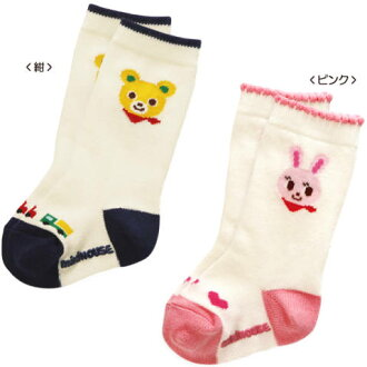 Miki House USA this & puccia high socks 11 / 17 cm