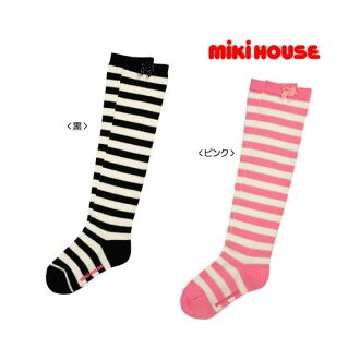 fs3gm Miki border ☆ knee high socks (13 cm-23 cm)