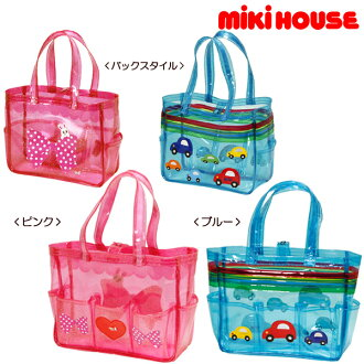 upup7 Miki House car & Ribbon ♪ クリアビーチ bag