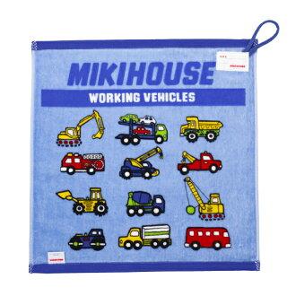 Hand coloring book ★ work car ☆ with loop towel