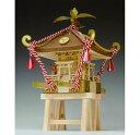 【お取り寄せ品】【ウッディジョー】ミニみこし 1/10 木製キット
