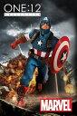 【在庫品】【メズコトイズ】 ワン12コレクティブ/ マーベルユニバース: リアルワールド キャプテン・アメリカ 1/12 アクションフィギュアの画像
