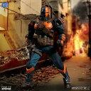【予約商品】【メズコトイズ】 【送料無料】ワン12コレクティブ/ DCコミックス: デスストローク 1/12 アクションフィギュアの画像