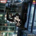 【予約商品】【メズコトイズ】 ワン12コレクティブ/ マーベルコミックス: プレビュー限定 ブラックコスチューム スパイダーマン 1/12 アクションフィギュアの画像