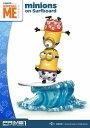 【プライム1スタジオ】 【お取り寄せ品】プライムコレクタブルフィギュア/ 怪盗グルーのミニオン危機一髪: ミニオンとサーフィン スタ..