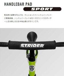 ストライダー正規品STRIDER:スポーツモデル《イエロー》ペダルなし二輪車キックバイクランニングバイク安心2年保証公式ショップ【送料無料】【無料ラッピング】