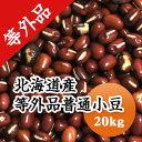 小豆 訳あり お買い得 等外品 北海道産小豆 食品ロス 20kg【令和2年産】格安 業務用 送料無料