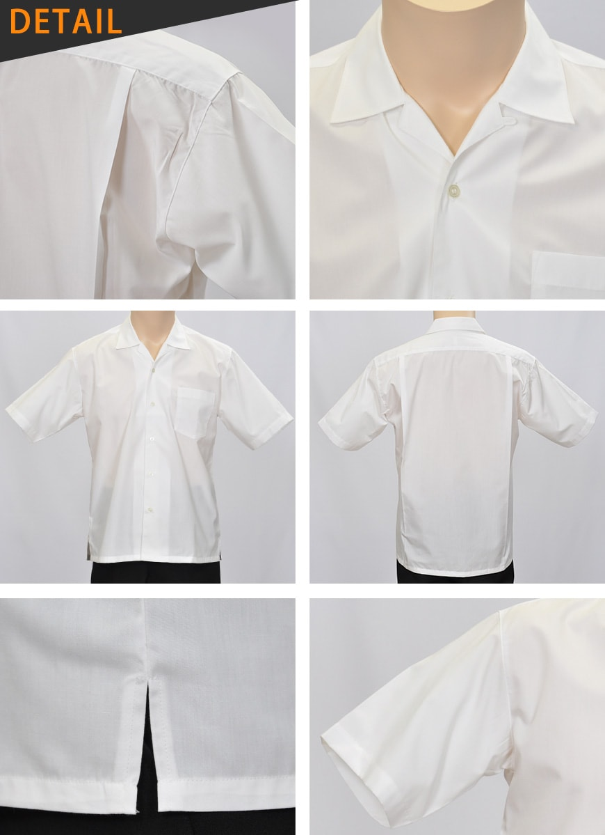 ヒロミチナカノ 学生用半袖開襟シャツ S〜3L...の紹介画像3