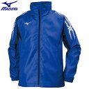 トレーニングウエア ウォーマースーツ ミズノ MIZUNO ブレスサーモウォーマーシャツ ユニセックス (25)サーフブルー×ブラック 32JE755025