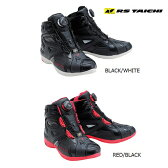 RS TAICHI/アールエスタイチ/RSS007/DELTA Boa RIDING SHOES/ライディングシューズ<メンズ/24.0cm、24.5cm、25.0cm、25.5cm、26.0cm、26.5cm、27.0cm、27.5cm、28.0cm、28.5cm/BLACK/WHITE、RED/BLACK/ライディングシューズ/靴/Shoes/bike/オートバイ/バイク用/Mens/男