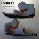 SHOEI ショウエイ X-14 TYPE-I チークパッド ヘルメットオプション(内装・インナー)