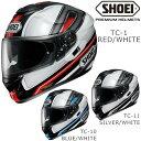 フルフェイスヘルメット SHOEI ショウエイ GT-Air DAUNTLESS ジーティーエアー ドーントレス フルフェイス SHOEI バイクヘルメット バイク用ヘルメット 白 ホワイト シロ しろ 赤 レ