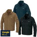 楽天作業服 安全靴 安全帯のまもる君ラングラー Wrangler 作業着 作業服 ブルゾン ジップアップジャケット(男女兼用) AZ-64201 作業着 通年 秋冬 2018年 新作 新商品