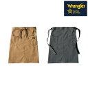 楽天作業服 安全靴 安全帯のまもる君ラングラー Wrangler 前掛け エプロン ミディエプロン AZ-64181 2018年 新作 新商品