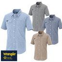 作業服 半袖シャツ ラングラー Wrangler 半袖シャツ(男女兼用) AZ-64437 作業着 春夏