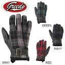 GREEDY/グリーディー/GWG-276/カジュアルウインターグローブ/Winter Gloves/バイクグローブ<メンズ/M、L、LL、3L、LADY'S-...