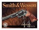Smith&Wesson(スミス&ウェッソン)-44Magnum(44マグナム)(S&W) ブリキ看板