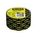ショッピング工作 【スコッチ 3M】ダクトテープ バットマン(Batman)48mm×9.14m【アメリカ製(Made in USA)】【Scotch】(生活雑貨)