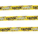 【ハロウィン】『ゾンビ注意』パーティーテープ 7.5cm×6メートル【装飾】 【181SS20】