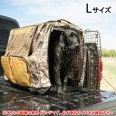 【ブローニング リアルツリー】犬用 ケージカバー 折りたたみ式 Lサイズ 【BROWNING REAL TREE カモフラージュ ペット用品】