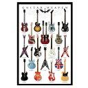 ポスター GUITAR HEAVEN 92cm×61cm ■ ギター ロック ROCK 音楽 ミュージック インテリア 雑貨 ガレージ ディスプレイ