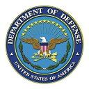 アメリカ国防総省 ロゴデカール 直径約8cm