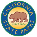 California state parks アメリカ合衆国 カリフォルニア州立公園 マーク デカール 直径約10cm