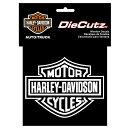 【インテリア 雑貨】ハーレーダビットソン バー シールドロゴ ダイカット ステッカー【Harley-Davidson】【自動車 カー用品】