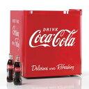【再入荷】(アメリカ直輸入)【並行輸入品】【Coca-Cola】コカコーラ 小型冷蔵庫 48L【家電 冷蔵 冷凍】