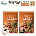 万田酵素 ジンジャー 分包 ペーストタイプ 2袋 セット 155g(2.5g×31包×2袋) 約62日