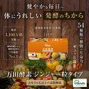 【公式】万田酵素 ジンジャー 粒タイプ(7粒×30包)【送料...