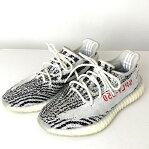 """adidas アディダス """" YEEZY BOOST 350 V2 イージーブースト 350 V2 ZEBRA ゼブラ """" カニエウエスト KANYE WEST スニーカー sneakers シューズ SHOES 靴 品番:CP9654 サイズ表記:27.0cm カラー:WHITE/CBLACK/RED ホワイト/コアブラック/レッド 万代Net店"""