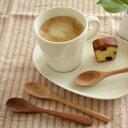 【moku ティースプーン3種類(天然木)】 木製,木のスプーン,手作り,コーヒースプーン