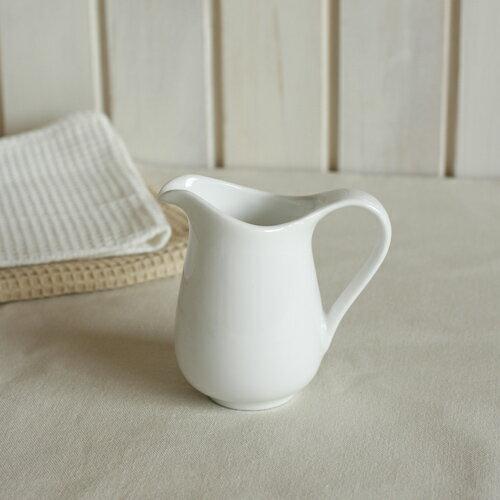 シェフズスタイルItalyイタリーミルクピッチャー Lミルクポットカフェ食器ティーアイテム陶磁器白い