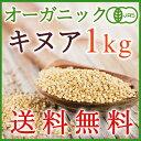 <送料無料>有機JASオーガニックキヌア1kg 話題のスーパーフード/安心のオーガニック!(キノア)