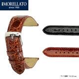 クロコダイル時計バンドエクストラロング(寸長) AMADEUS (アマデウス) K 0518 052 MORELLATO(モレラート) イタリア製 腕時計用 時計用ベルト! \16