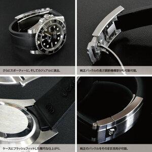 CASSIS製ROLEX用交換用の腕時計ベルトTYPERLXRUBBER002