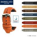 SOCCER(サッカー) ラバーカーフ(牛革)x4497b44 イタリア モレラート MORELLATO社製 時計ベルト 腕時計ベルト 時計バンド 腕時計用バン...