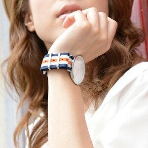 ダニエルウェリントンにもぴったりナイロン時計ベルト時計バンドカシス製腕時計ベルトTYPENATOバンド141601M腕時計ベルト時計ベルト時計バンド【ネコポス送料無料】