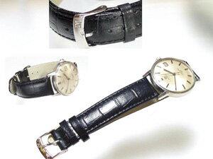 時計ベルトをモレラートのルイジアナに交換したオメガ シーマスター