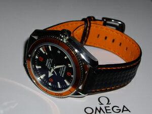 時計ベルトをモレラートのバイキングに交換したオメガ プラネットオーシャン