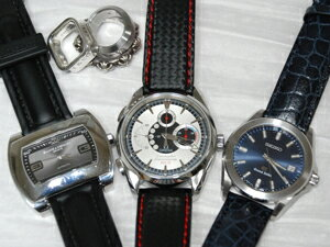 時計ベルトをモレラートのケイマンに交換したオメガ NZL-32